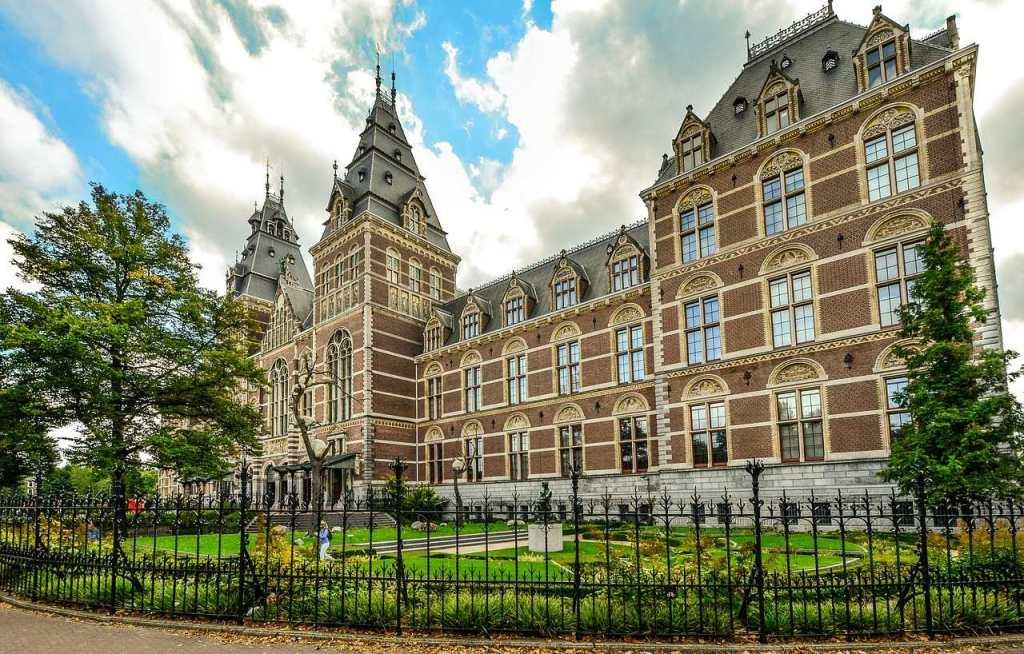 Rijkmuseum em Amsterdam na Holanda