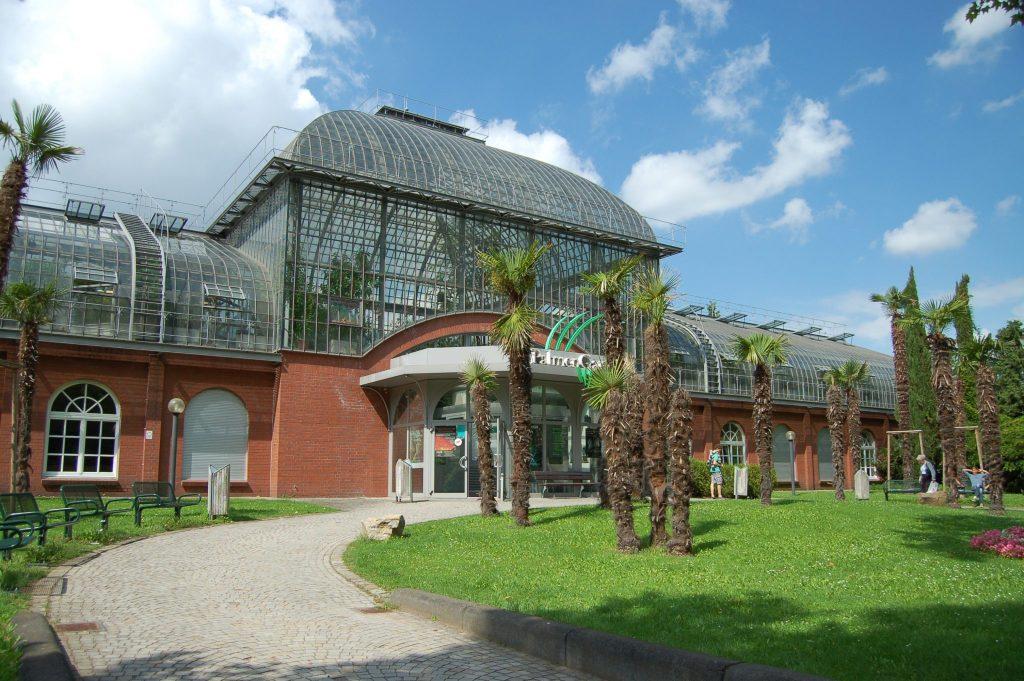 Palmengarten em Frankfurt, na Alemanha