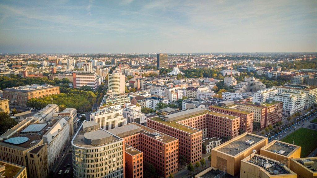 Potsdamer Platz em Berlim, na Alemanha