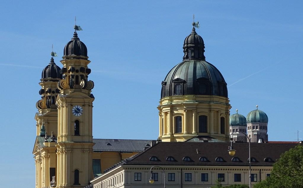 Theatinerkirche em Munique, na Alemanha