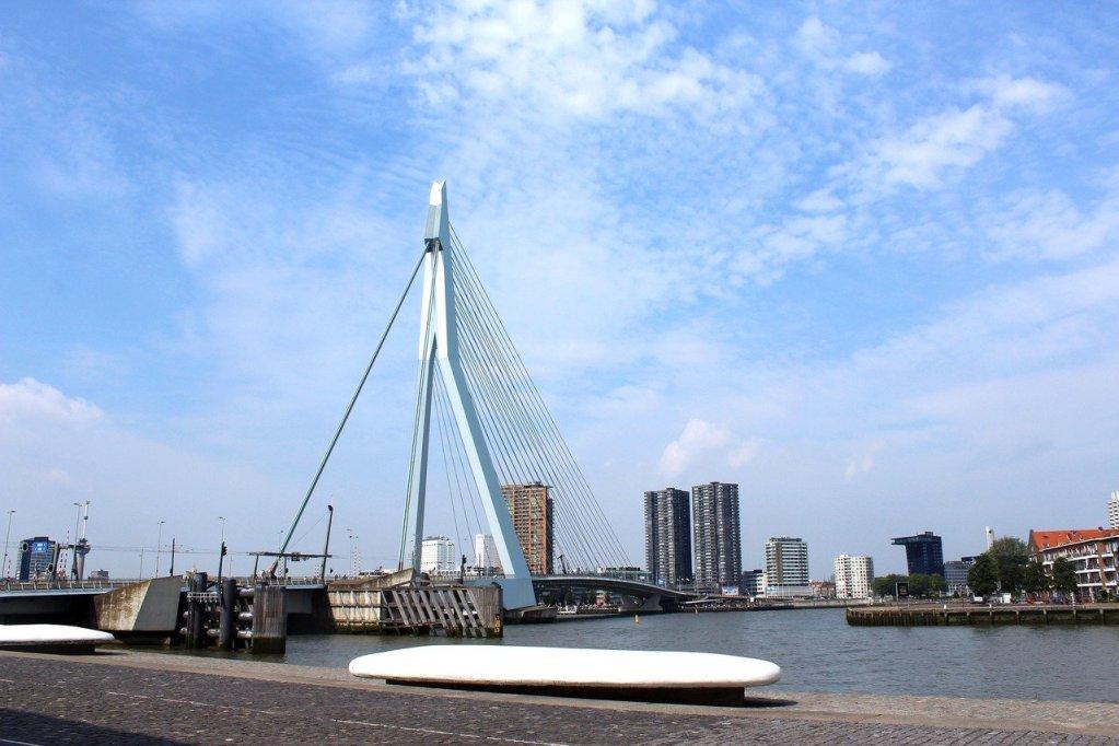 Ponte Erasmus em Rotterdam