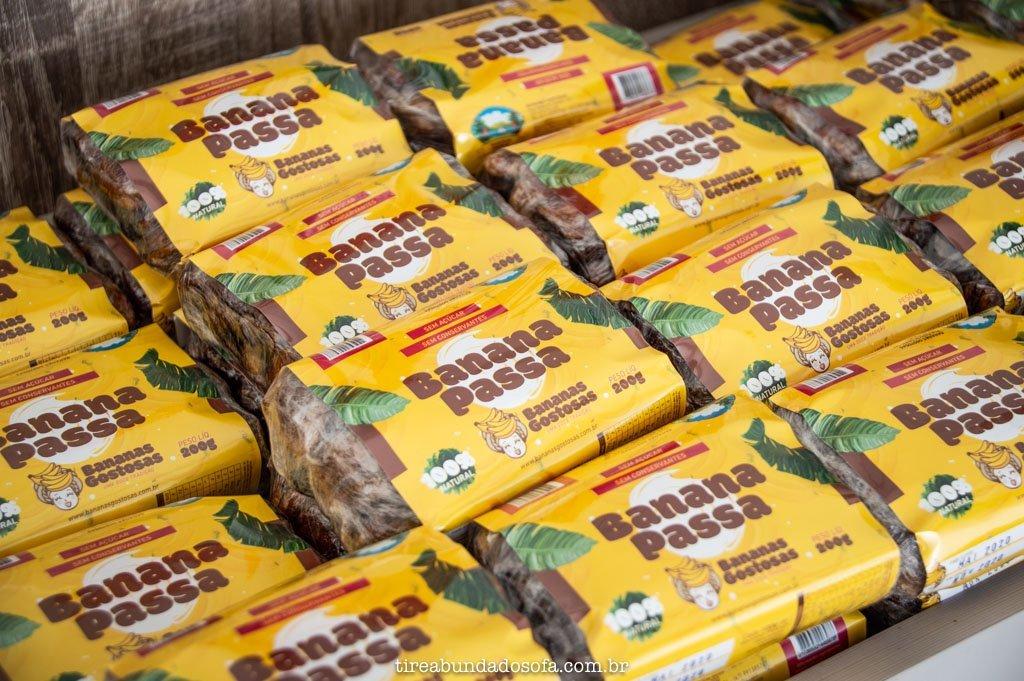 Produtos oriundos da banana de Corupá