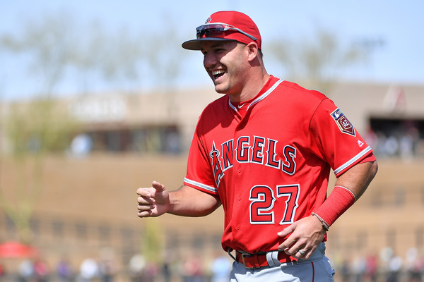Image result for Mike Trout 2018