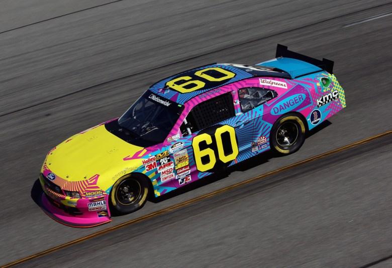 Photo: Travis Pastrana No.60 Roush Fenway Nationwide paint scheme | Tireball NASCAR News, Rumors ...