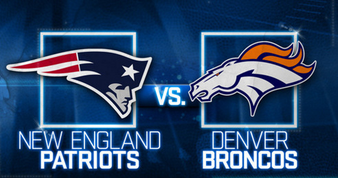 AFC Championship Denver Broncos vs New England Patriots