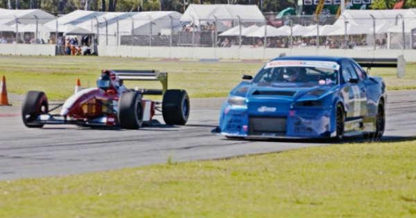 1000HP R34 GTR Roll Race A 1994 Formula 1 Car 1