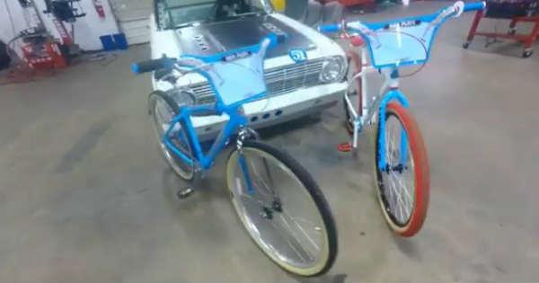 Aaron Kaufmann 1st Christmas Gift Mike Buff Bicycle 2