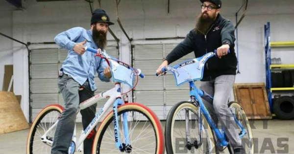 Aaron Kaufman 1st Christmas Gift Mike Buff Bicycle