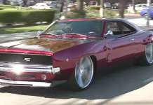 Jay Leno Test Drives This Insane Twin Turbo V10 1968 Dodge Charger RTR 1