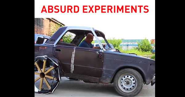 Most Ridiculous Car Experiment Ever 1