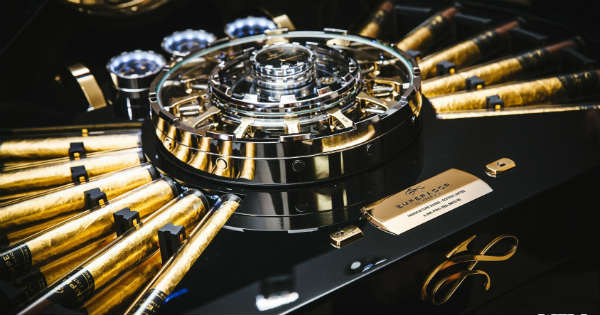 This Cigar Chest With High Tech Mechanics Is Worth 1 Million 2