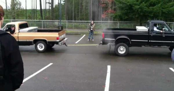 Tug Of War Ford vs Chevy 1