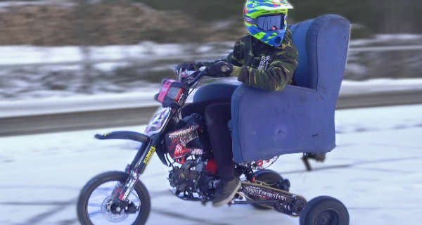 You Can Have A Lot Of Fun With This Winter Moped 2