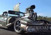 800HP Chevy El Camino Rat Rod 1