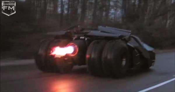 Batpod Bike Batmobile 2