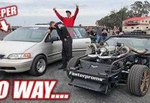 Cleetus McFarland Lost To A 150 MPH Sleeper Minivan 1