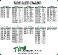 Tire Rack Diameter Comparison