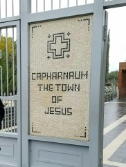 The hometown of Jesus during his ministry
