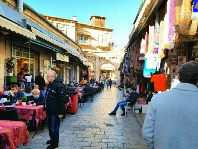 We had a few minutes to shop in the Christian Quarter of the Old City