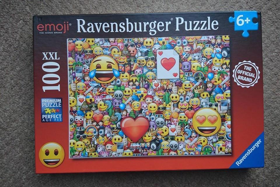 Ravensburger Emoji XXL100 pc puzzle