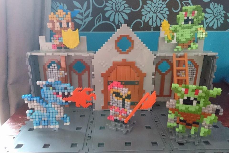 Qixels Kingdom – Castle Attack