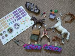 Schleich horse club contents