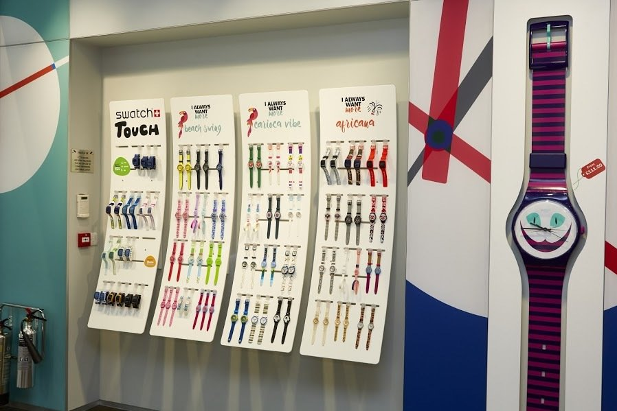 New Swatch Store now open in Manchester Arndale