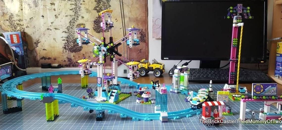 Lego Amusement Park Roller Coaster 41130