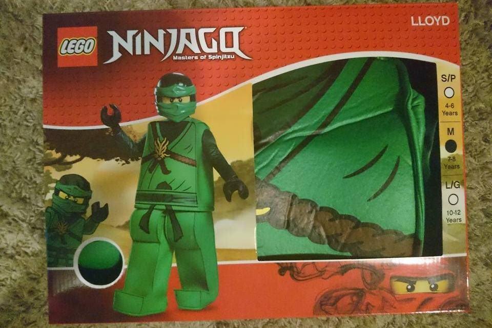Lego Ninjago Costume – Green Ninja Lloyd
