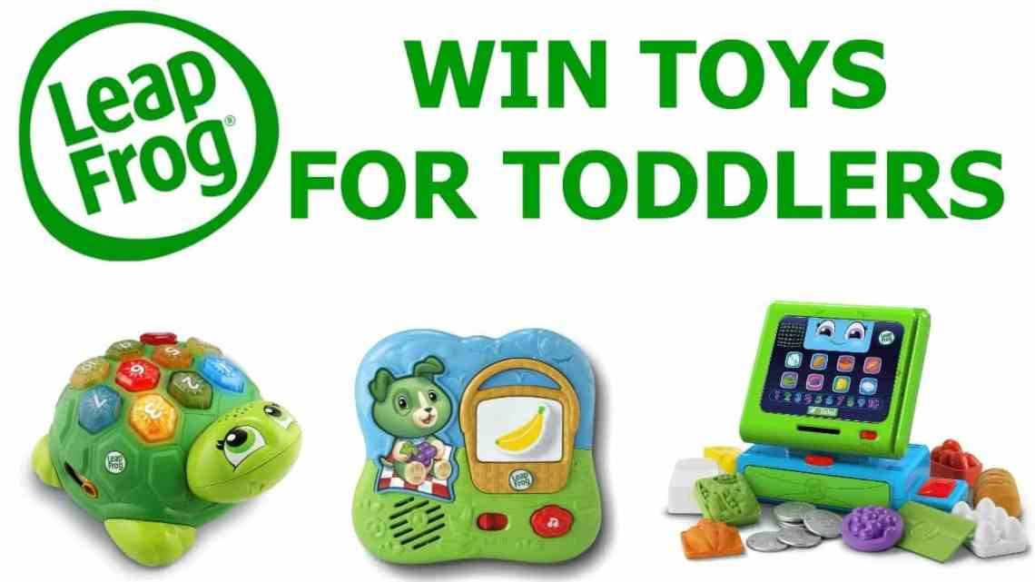 Win three Leapfrog Learning Toys for Toddlers