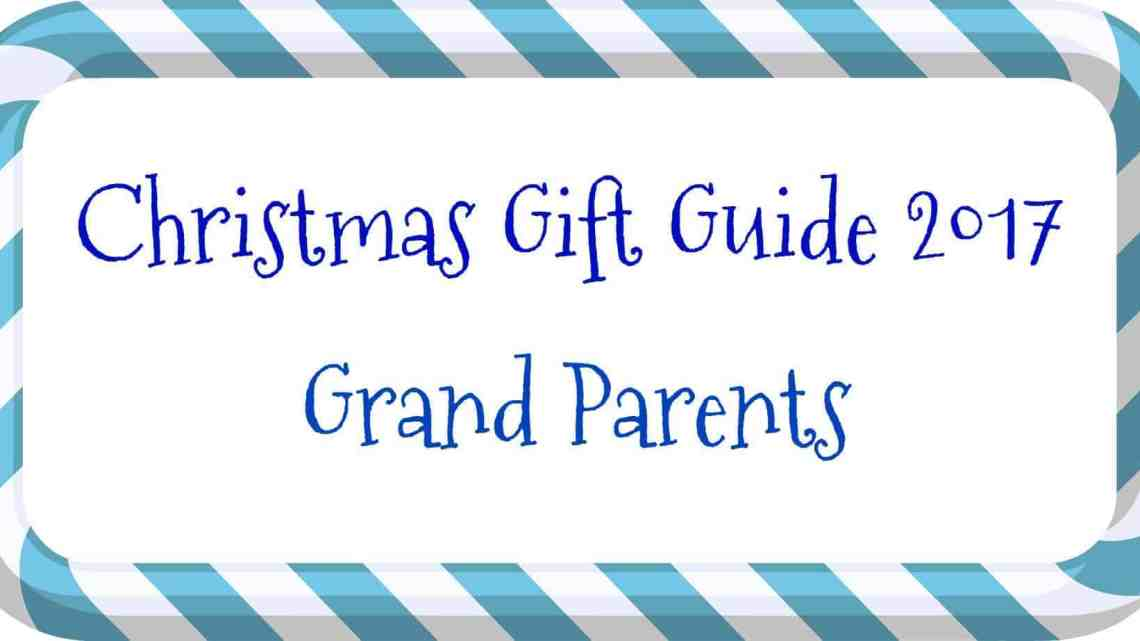 Christmas Gift Guide – Grandparents