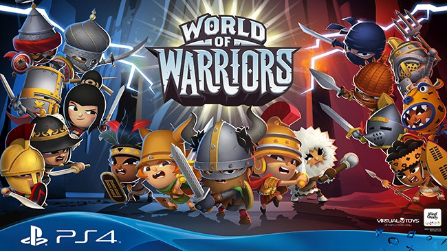 World of Warriors for the PS4