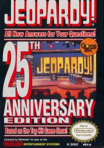 Jeopardy 25th Anniversary Edition