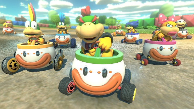 The addition of Bowser Jr means all of Bowser's offspring (and alleged ones) are present