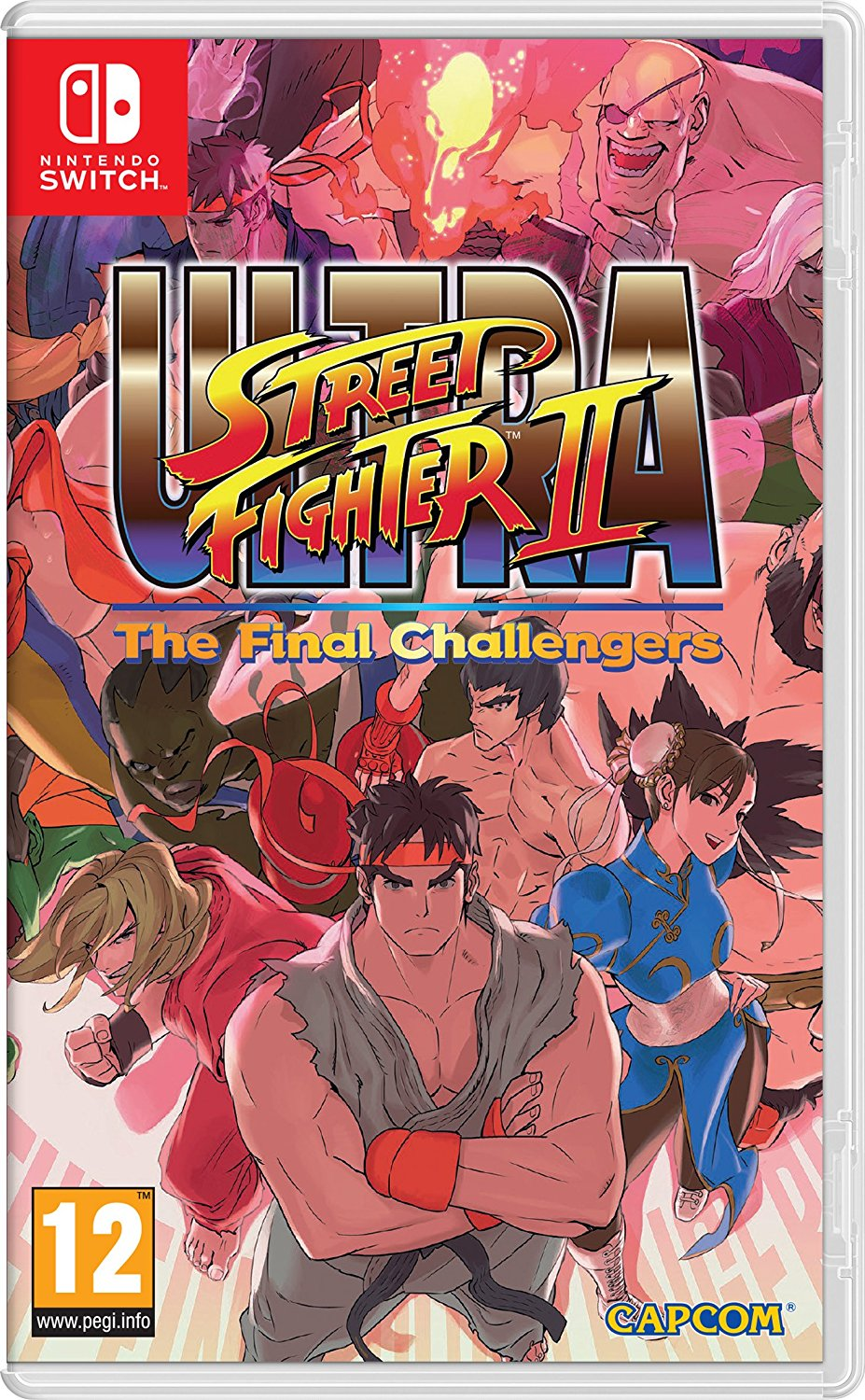 Ultra Street Fighter Ii Switch Review Tired Old Hack