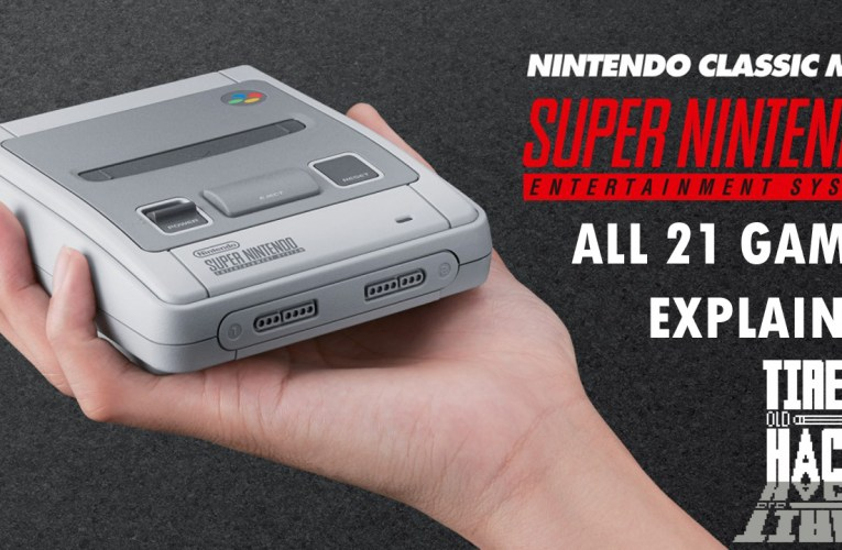 Nintendo Classic Mini SNES – all 21 games explained