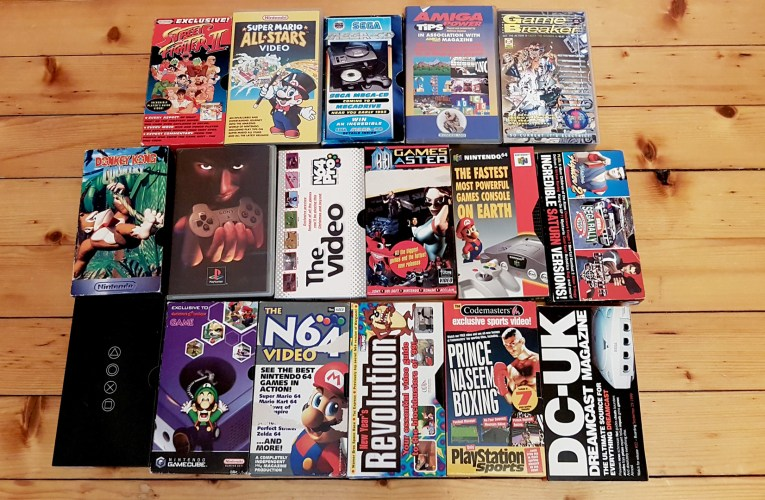 Introducing the Video Game VHS Preservation Project