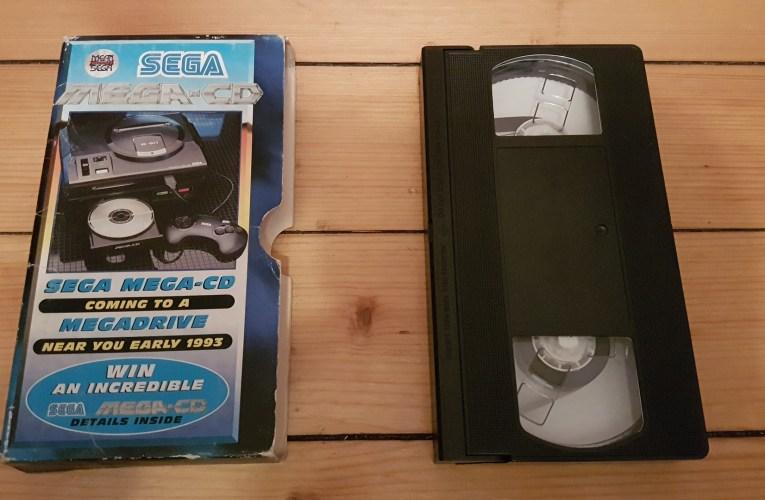 VHS Preservation Project #7: Mean Machines Sega Mega CD promo video