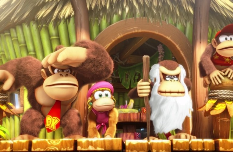 Donkey Kong Country: Tropical Freeze (Switch) gameplay footage