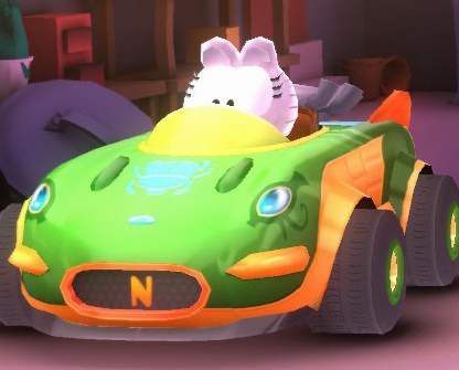 Cutie-Pie Cat (Nermal's car)