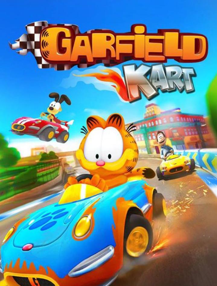 Kartography 2 Garfield Kart Tired Old Hack