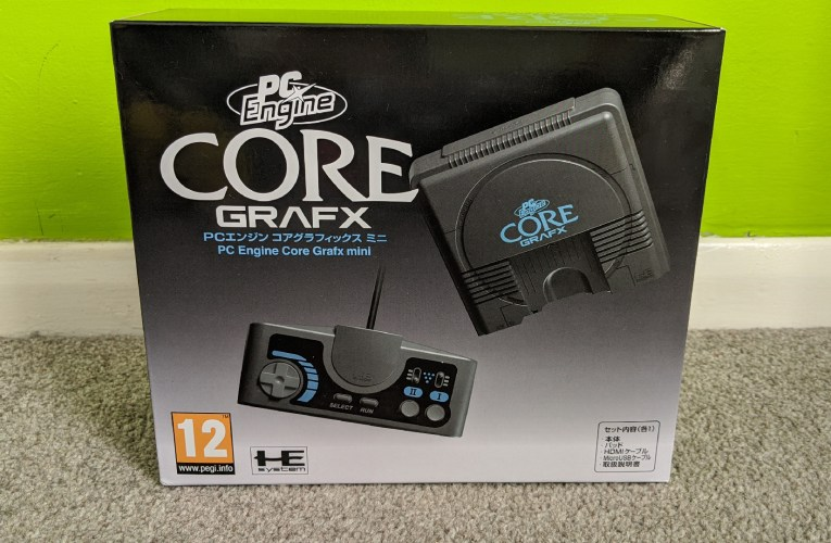 PC Engine CoreGrafx Mini review