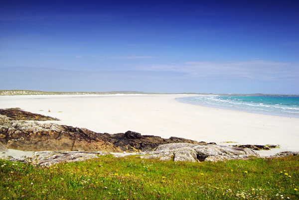 Crossapol Beach to the South of Tiree