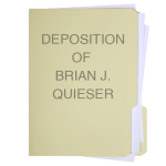 Brian J. Queiser Deposition