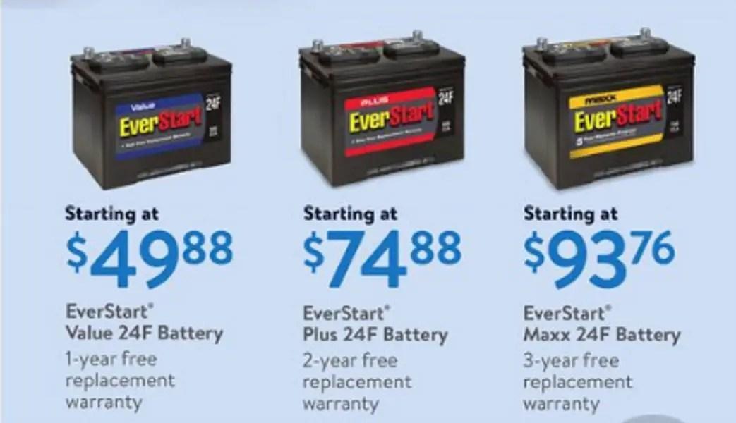 Is WalMart's ValuePower Everstart Value car battery any good