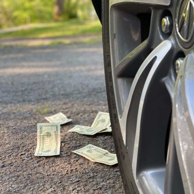 Researching tires before purchasing promotes saving money when buying.