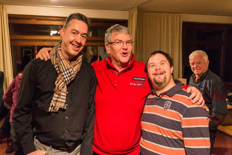 (von links nach rechts) Marko Falkner, Egon Lamprecht, Florian Pirschner
