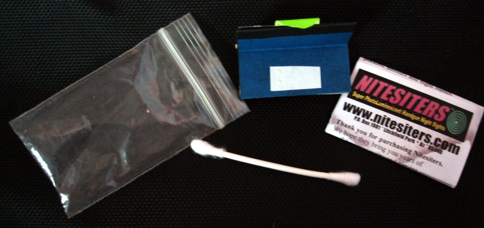Nitesiters, kit de 8 puntos súperfotoluminiscentes