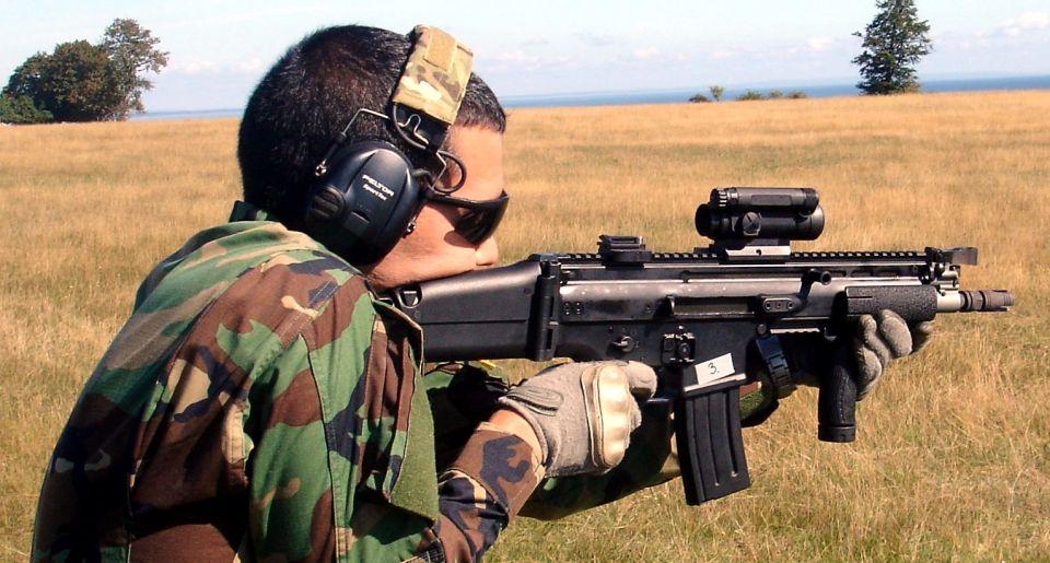 4. FUSA FN SCAR-L CQC (5'56x45 mm.). ©Jorge Tierno Rey.