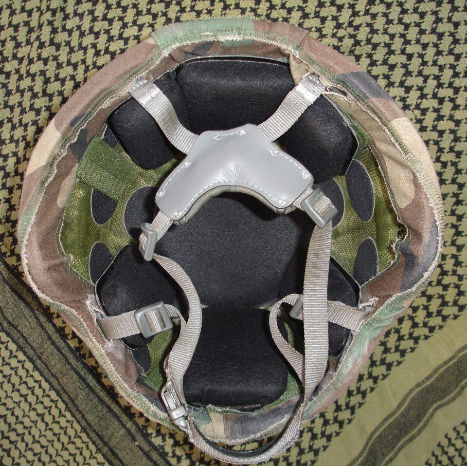 Acolchado/almohadillado con las almohadillas tradicionales, en este caso de la marca Skydex.
